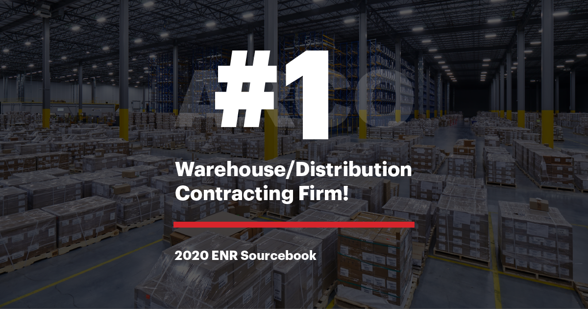 ARCO named #1 Warehouse/Distribution Contracting Firm by ENR Sourcebook 2020