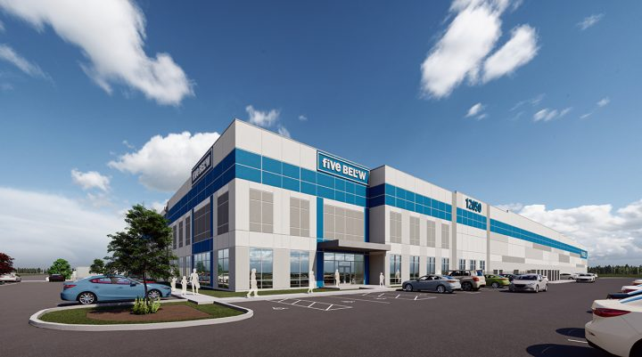 ARCO rendering of Five Below project in Indianapolis